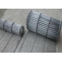 China 1.8 Mm Thickness Flat Wire Mesh Belt SUS 304 With High Temperature Resistance wholesale