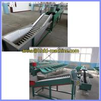 Buy cheap orange washing , fan drying and grading machine,apple cleaning sorting machine from wholesalers