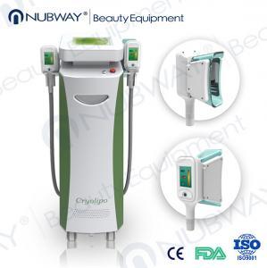 China RF & Ultrasonic & Cryolipolysis & Vacuum 4 in 1 Multifunction 5 handles fat-freezing wholesale