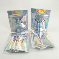 China Gravure Printing Foil Pouch Packaging Holographic Laser Bag Biodegradable For Shopping wholesale