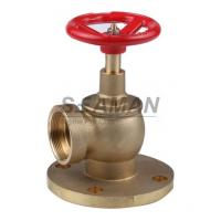 "China Fire Hydrant Valve with Flange PN 16 Male 1.5"" Right Angle with Female Thread - Brass wholesale"