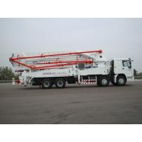 Quality ZOOMLION mounted concrete pump truck 47m with Preeminent intelligent control for sale