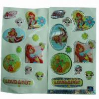 China Butterfly Epoxy Sticker, Easy-to-apply and remove, Nontoxic, Used for Promotional and Advertisement wholesale