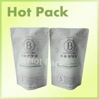 China Bathorium 600g Eucalyptus Apothecary Laminated Matte Ziplock Stand Up Bags wholesale