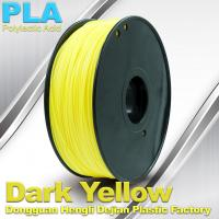 China Diameter 1.75mm / 3.0mm 1.0KG / roll PLA Filament For 3F Printer In Stock wholesale