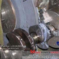 China Conventional Crankshaft Grinding Wheel  Alisa@moresuperhard.com wholesale
