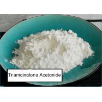 Buy cheap 98% Glucocorticoid Anti Inflammatory Triamcinolone Acetonide Corticosteroid API from wholesalers