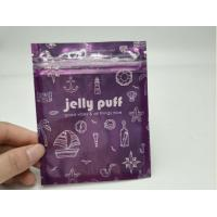 China Clear Front Herbal Incense Packaging Purple Ccolor For Pills / Capules / Tablets wholesale