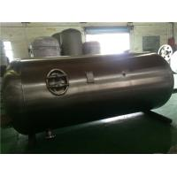 China Industrial Stainless Steel Air Compressor Receiver Tanks Double Sided Welding wholesale