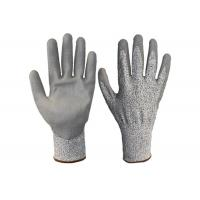 China High Performance Non-Slip PU Palm Level 5 Cut Resistant Safety Work Wear Protective Gloves wholesale