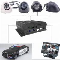 China Four - In - One Dual SD Card Mobile Vehicle DVR With 3G / 4G GPS WIFI , 1080P Resolution wholesale