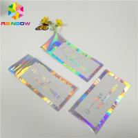 China Hologram Envelop Foil Bag Aluminium Foil Pouch Self Adhesive Three Sided Seal wholesale