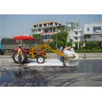White PET Non Woven Geotextile For Filtration / Seperation / Slop Protection