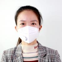 China Health Protective N95 Disposable Mask Vertical Folding Colored FFP2 Face Mask wholesale
