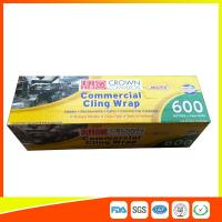 China Commercial Wrapping Catering Cling Film 45cm Roll / Cooking Film Wrap For Kitchen wholesale