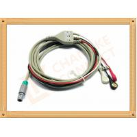China Medical Hellige ECG Trunk Cable , ECG Snap Connector With TPU Material wholesale