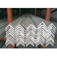China Hot Rolled Stainless Steel Angle Bar , No.1 Finish Stainless Steel Angle Stock on sale