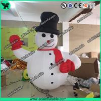 China Advertising Inflatable Snowman,Event Inflatable Snow Man, Party Inflatable Cartoon wholesale