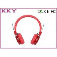 China Multi Function Wireless Around Ear Headphones With FCC / CE / RoHS BH05 wholesale