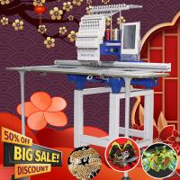 China 15 needles 360*1200mm cap t-shir flat sequin cording computer embroidery sewing machine like janome embroidery machine f on sale