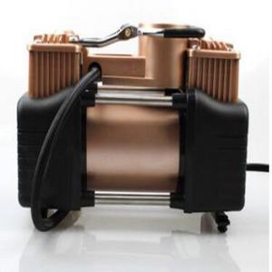 China Gold Car Air Compressor 12v Dc , 150psi Auto Air Compressor Portable wholesale