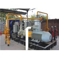 Water Injected Nature / Flammable Gas Screw Compressor ,Suction pressure 0.25 MPa, Discharge Pressure 1.0 MPa
