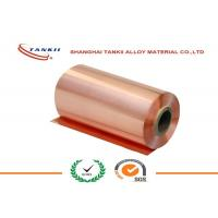 China 0.1 * 250mm 340HV hardness Pure Copper Sheet High Yield Strength QBe2 C17200 wholesale