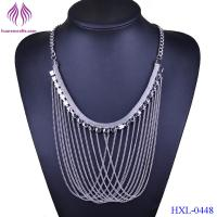 China Women fashion Vintage Maxi Colar Collier Statement Chain Multi Layer Necklace Gold Women Accessories wholesale