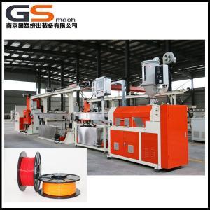 China PLC Control 3D Plastic Filament Extruder Machine , Screw Extruder 3d Printer wholesale