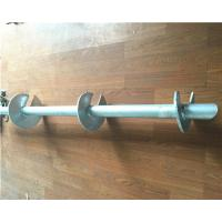China Hot Dip Galvanized Helical Pile Foundations Ground Screw Pole Anchor wholesale