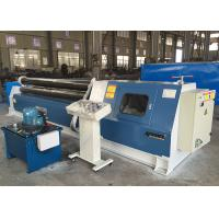 China SS Plate Bending Hydraulic Rolling Machine With 3 Rollers High Rotation Power on sale