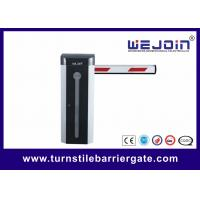 Buy cheap Bi - Directional Car Park Road Barrier , Electronic Automatic Barrier Gates Access Control from wholesalers