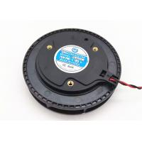 China High Air Flow Centrifugal Fan Blower Round 24V 100mm X 25mm Dual Ball Bearing wholesale