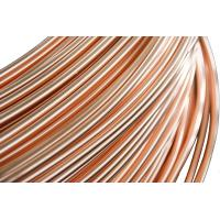 Buy cheap Refrigeration Copper Tube , Brazed Steel Pipes 4.76 * 0.65 mm from wholesalers