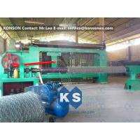China Automatic Heavy Duty Hexagonal Mesh Machine for Making Stone Gabion Netting wholesale