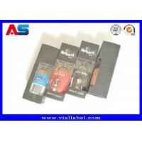 Buy cheap 30ml Box Print e liquid Custom Small Packaging Boxes With Clear Window With Free from wholesalers