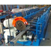 China Downpipe / Water Pipe / Downspout Roll Forming Machine , Drain Pipe Production Line wholesale