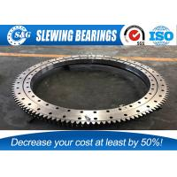 China ID400mm Single Row H8 Excavator Slewing Bearing For Engineering Machinery wholesale