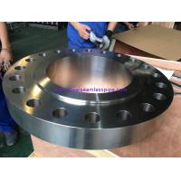 China Seamless Super Duplex Flanges Corrosion Resistance Heat Treatment For Petroleum on sale
