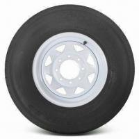 China Wheel and Tire Assembly, ST235/85R16 Radial Tire Size with 16 Inches Wide Rim wholesale