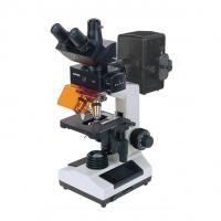China FLUORESCENT MICROSCOPE WITH CCD AND CAMERA wholesale