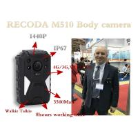 China 4G GPS Police Body Worn Camera Support LIve checking from PC & Mobile Phone wholesale