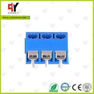 China HQ306-5.0 Terminal Block PCB 2P - 3P Pole PA66 UL94V-0 Material wholesale