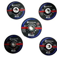 China 115mm X 6.4mm X 22.23mm Resin Bonded Grit 24 Abrasive Grinder Discs For Metal Fab wholesale