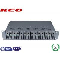 China Fiber Optic Media Converter Rack Mount wholesale