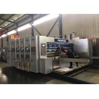 China Corrugated Carton Automatic Feeder Flexo Printer Slotter Die Cutter Gluer Bundler Machine on sale