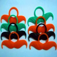 China Funny soft cosmetics silicone false moustache for water bottle wholesale