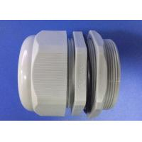 China PG63 Gray IP68 Electrical Cable Gland , Nylon Cable Gland With ROHS Report wholesale