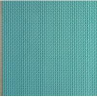 China 4X4 PVC outdoor Anti-UV mesh fabric in light blue color wholesale