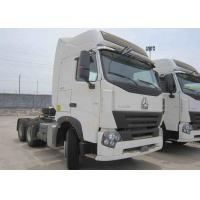 China 25 Tons Howo Tractor Head , Sinotruk Howo Truck With Low Fuel Consumption on sale